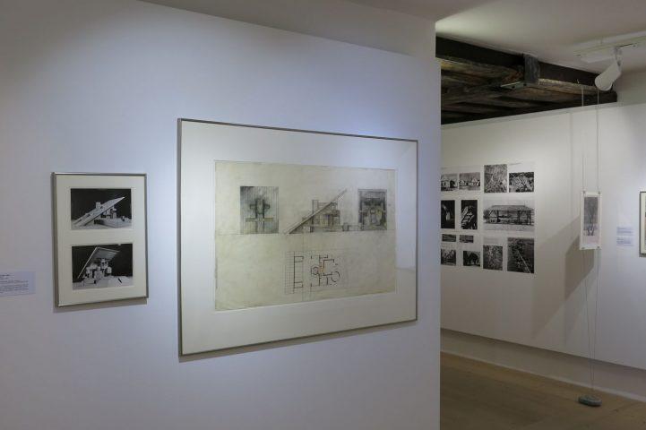 """Einblick in die Ausstellung """"Architekt Raimund Abraham.Back Home"""""""