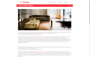 Screenshot Website Defase